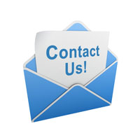 Contact Us envelope graphic